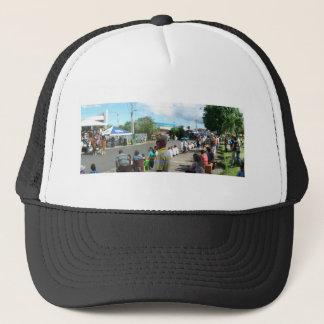 Gorra De Camionero extranjero en la muchedumbre