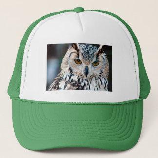 Gorra De Camionero Fauna de la naturaleza del pájaro del búho de