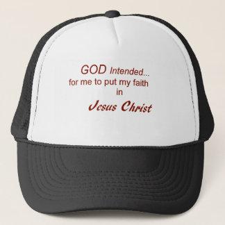 Gorra De Camionero Fe en Jesucristo