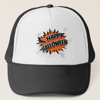Gorra De Camionero Feliz Halloween