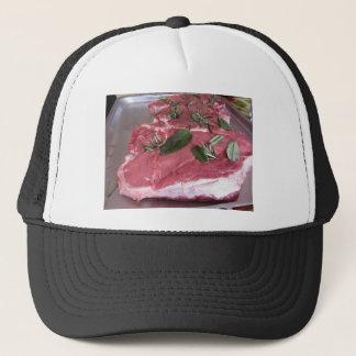 Gorra De Camionero Filete veteado crudo fresco de la carne