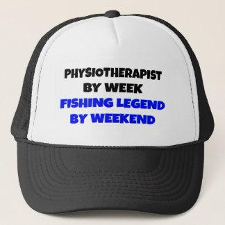 Gorra De Camionero Fisioterapeuta de la leyenda de la pesca