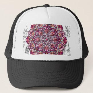 Gorra De Camionero Floral Mandala