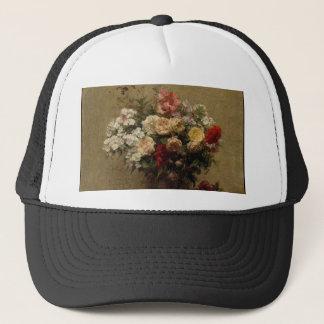Gorra De Camionero Flores del verano - realismo