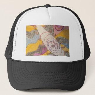 Gorra De Camionero Flotación en el vacío del arco iris