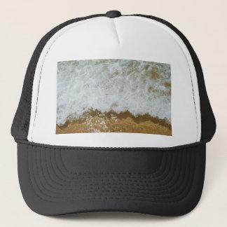 Gorra De Camionero Fondo chispeante de la escena del océano