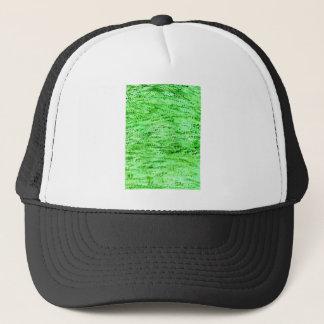 Gorra De Camionero Fondo verde del Grunge