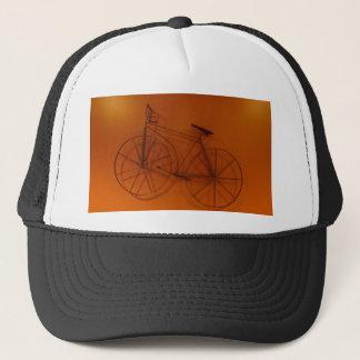 Gorra De Camionero Fotografía vieja de la bicicleta de Timey