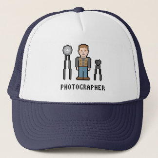 Gorra De Camionero Fotógrafo del pixel