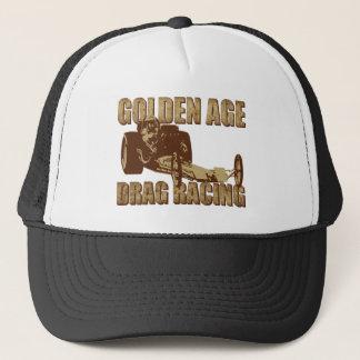 Gorra De Camionero fricción de la época dorada que compite con el