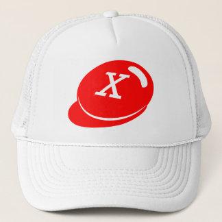 Gorra De Camionero Funcionario X-OUT (gorra blanco)