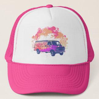 Gorra De Camionero furgoneta retra del hippie del grunge