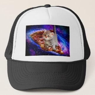 Gorra De Camionero gato de la pizza - gatos lindos - gatito - gatitos