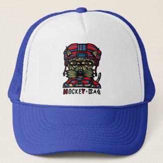 """Gorra De Camionero """"Gorra del camionero del Kat del hockey"""""""
