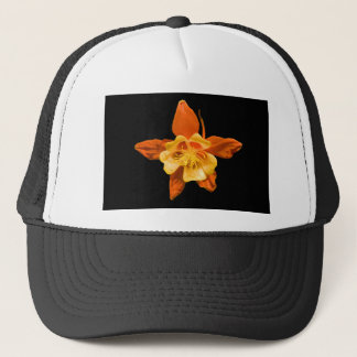 Gorra De Camionero Gorra, solo flor de Columbine
