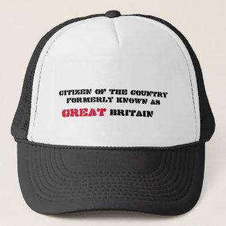 Gorra De Camionero Gran Bretaña era grande una vez