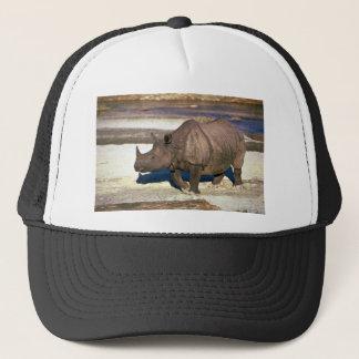 Gorra De Camionero Gran rinoceronte Uno-De cuernos indio