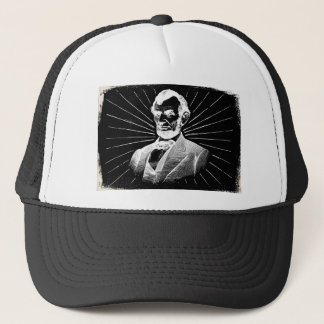 Gorra De Camionero grunge Abraham Lincoln
