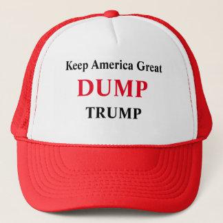 Gorra De Camionero Guarde la gran campaña de América - triunfo de la
