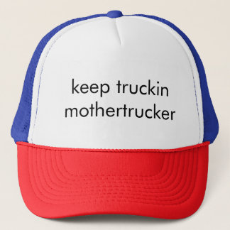 Gorra De Camionero Guarde Truckin Mothertrucker