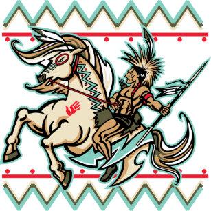 Gorra De Camionero Guerrero indio en caballo 7cf59fad33f
