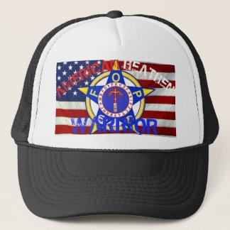 Gorra De Camionero Guerrero pagano americano--Policía