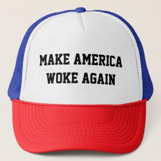Gorra De Camionero Haga América despertó otra vez