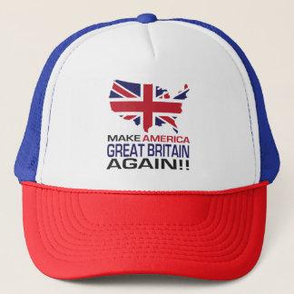 Gorra De Camionero ¡Haga América Gran Bretaña otra vez!