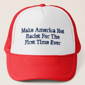 Gorra De Camionero Haga América no racista