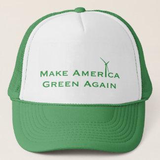 Gorra De Camionero Haga el verde de América otra vez