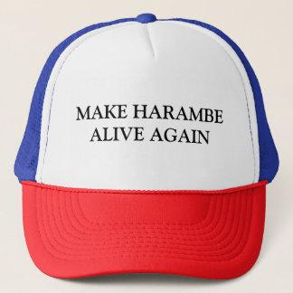 Gorra De Camionero Haga Harambe vivo otra vez