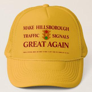 Gorra De Camionero Haga los semáforos de Hillsborough grandes otra