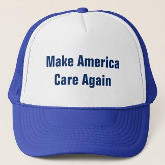 Gorra De Camionero Haga que América cuida otra vez y entonces será