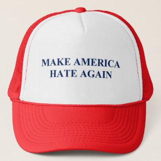 Gorra De Camionero Haga que América odia otra vez Donald Trump Anti