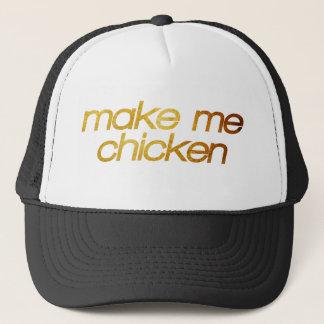 Gorra De Camionero ¡Hágame el pollo! ¡Tengo hambre! Foodie de moda
