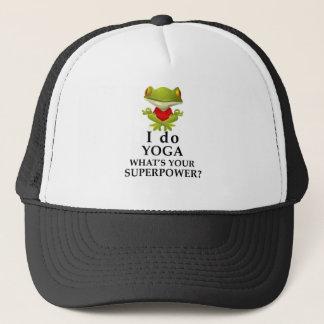 Gorra De Camionero hago yoga qué s su superpoder