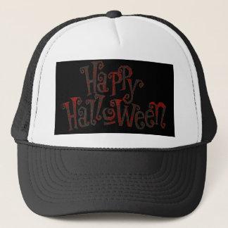 Gorra De Camionero Halloween feliz