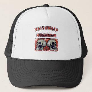 Gorra De Camionero Halloween - truco o invitación llevada 2