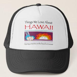 Gorra De Camionero Hawaii por Harrop-T-c