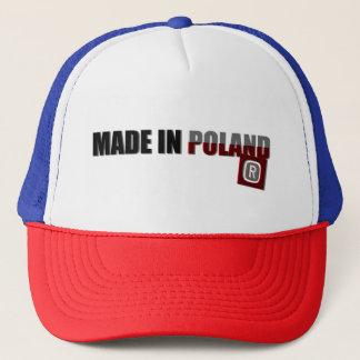 Gorra De Camionero Hecho en Polonia, original, país orgulloso,