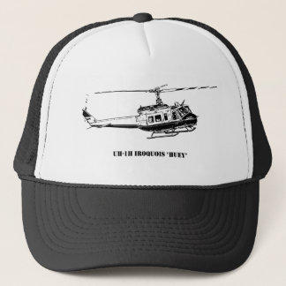 Gorra De Camionero Helicóptero del Iroquois de UH-1H