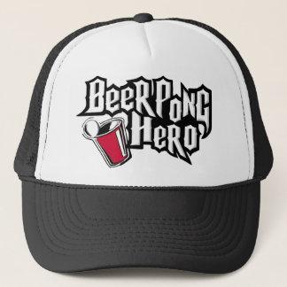 Gorra De Camionero Héroe de Pong de la cerveza