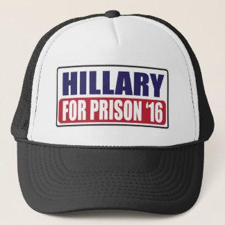 Gorra De Camionero Hillary para la prisión 2016