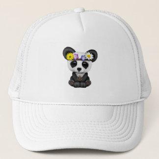 Gorra De Camionero Hippie lindo de la panda del bebé