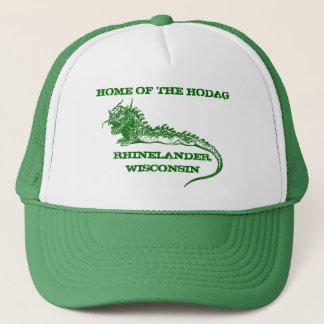 Gorra De Camionero Hogar de Rhinelander Wisconsin del casquillo del