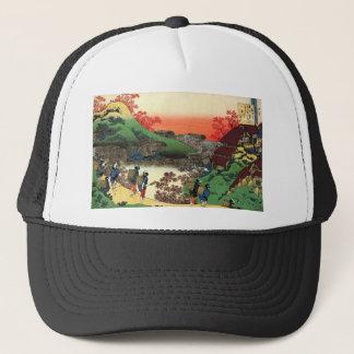 Gorra De Camionero Hokusai - arte japonés - Japón