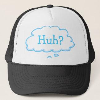 Gorra De Camionero HUH casquillo de pensamiento divertido de los