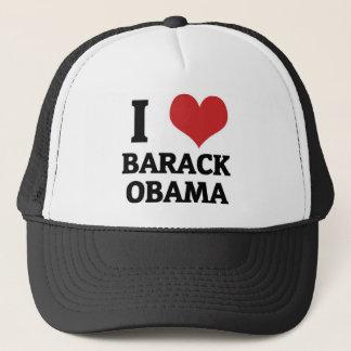 Gorra De Camionero I corazón Barack Obama