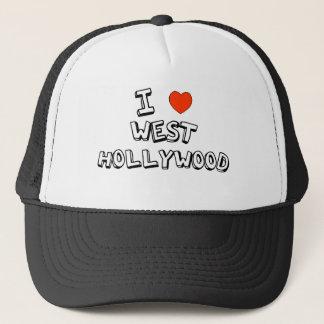 Gorra De Camionero I corazón Hollywood del oeste
