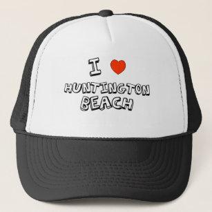 Gorra De Camionero I corazón Huntington Beach 98d95ea2489